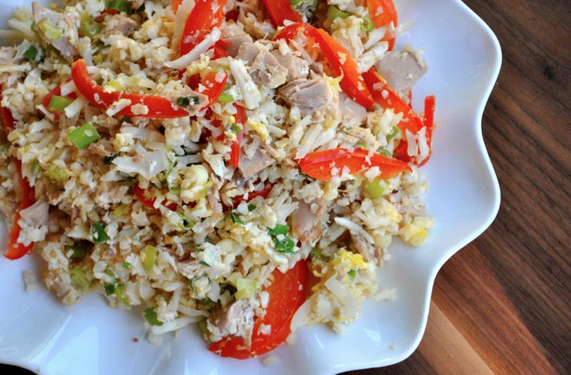 schnelle Rezepte Abendessen Reispfanne