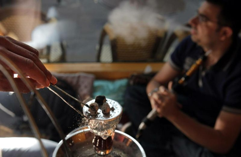erhitzen tabak für shisha rauchen