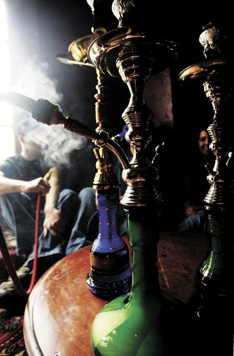 große shisha rauchmenge
