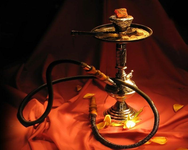 vorbereitung sisha rauchen