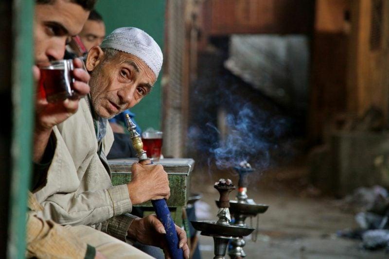 shisha rauchen im nahen osten
