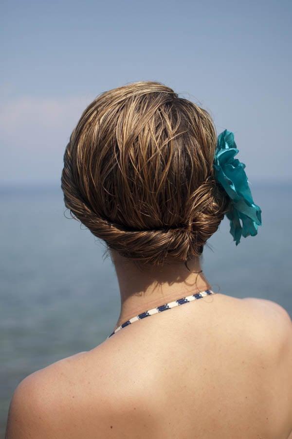 Strandfrisuren für den Sommer
