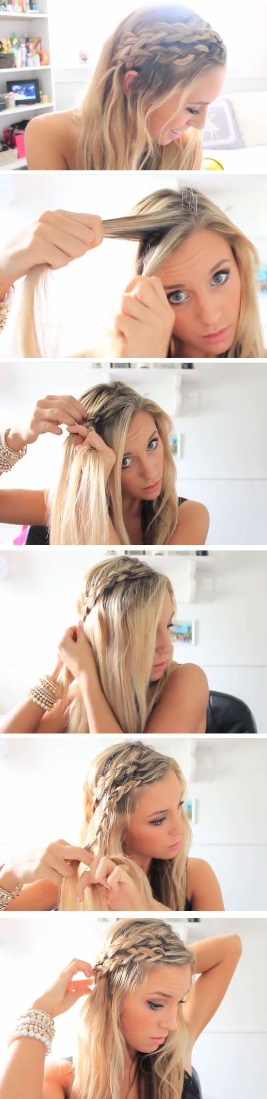 Sonne und Strand in den Haaren - Frisuren Ideen für den Sommer