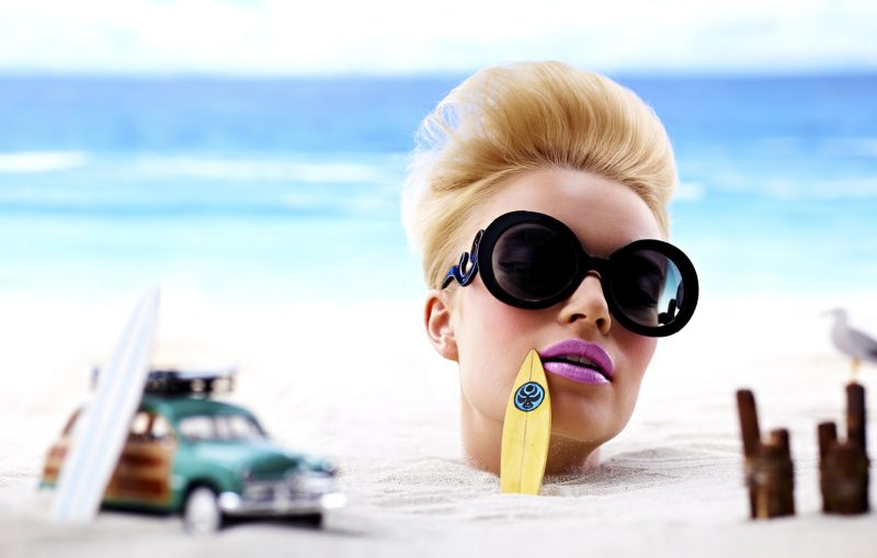 Sonne und Strand Strandfrisuren Ideen