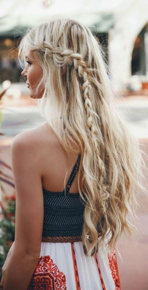 Sonne und Strand in den Haaren - Strandfrisren Ideen