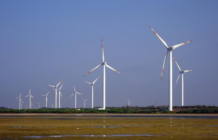 Windmühle erneuerbaren Energiequellen
