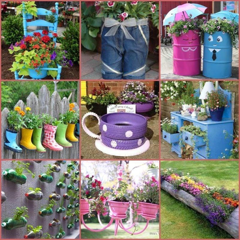 Terrassen und Garten gestalten mit wenig Geld