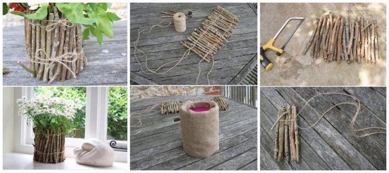 DIY Anleitung Blumentopf selber machen