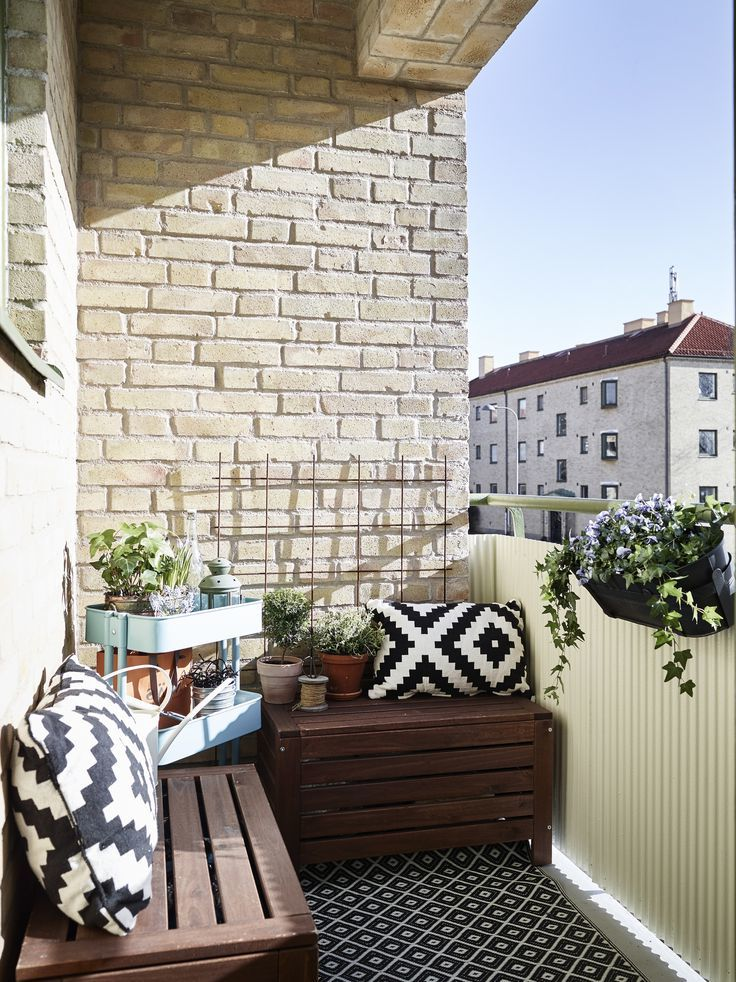 Balkon Ideen zum Selbermachen