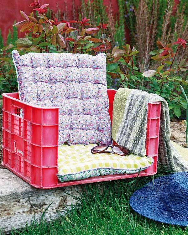 DIY Ideen für kleine Gärten gestalten
