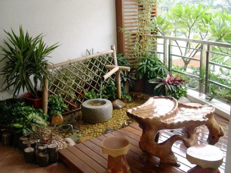 DIY Garten Terrasse Dekoration