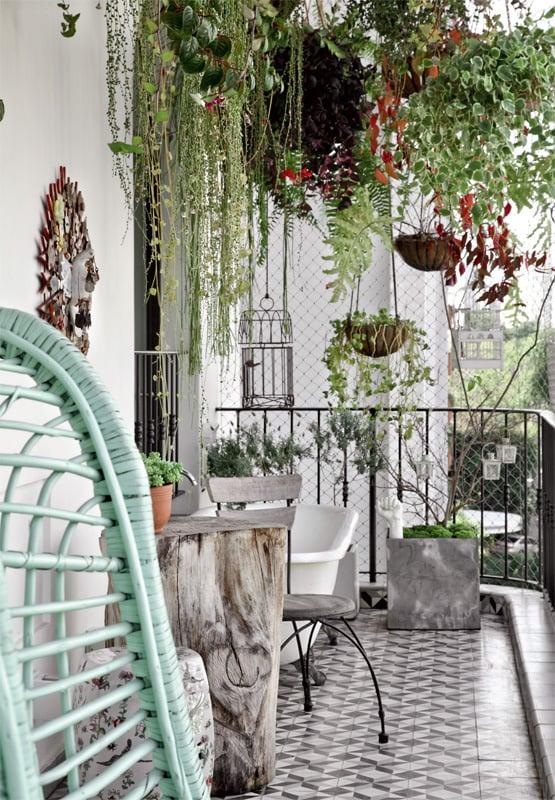Balkon Bodenbelag