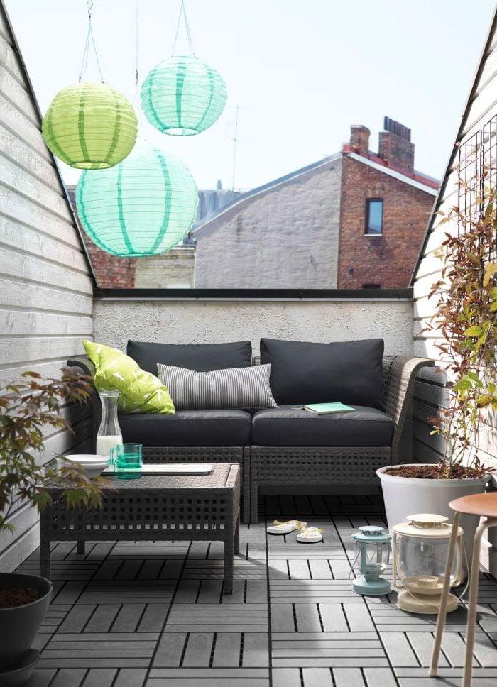 Terrasse bauen und einrichten DIY Ideen