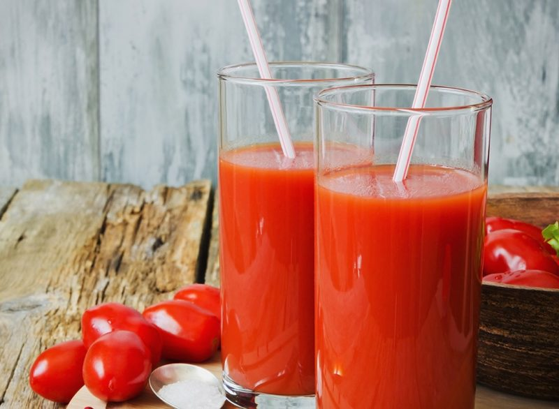 Saft aus Cherry Tomate