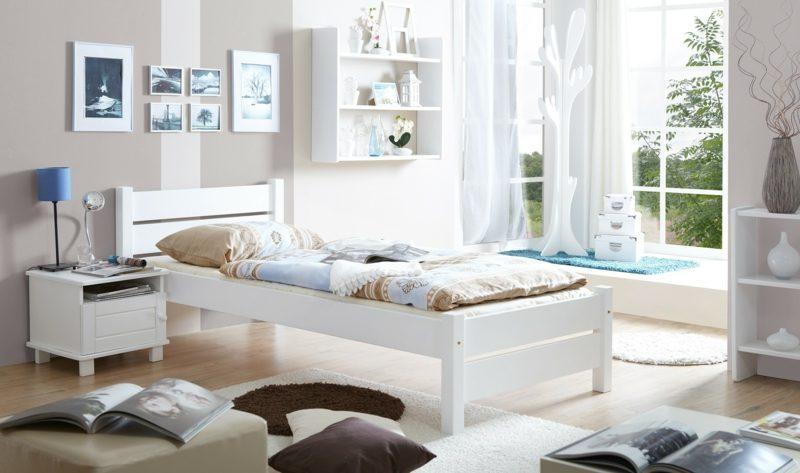 Bett kaufen klassisches Einzelbett