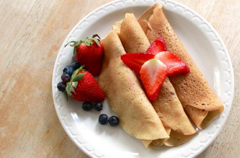 gesunde Pancakes Rezept ohne Ei und Milch
