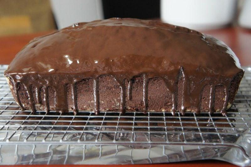 Rezept veganer Kuchen mit Schokolade