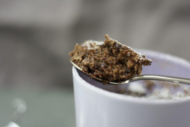 Backrezepte ohne Ei veganer Tassenkuchen