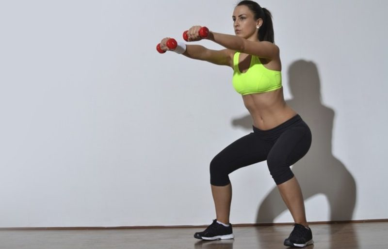 7 комплексов упражнений Зарядка для похудения и