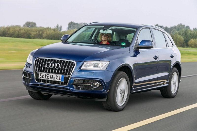 Hintergrundbilder Autos Audi Q5 Frontansicht