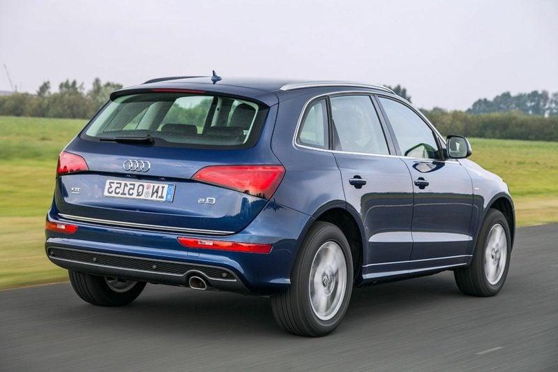 Auto Hintergrundbilder Audi Q5 Heckansicht