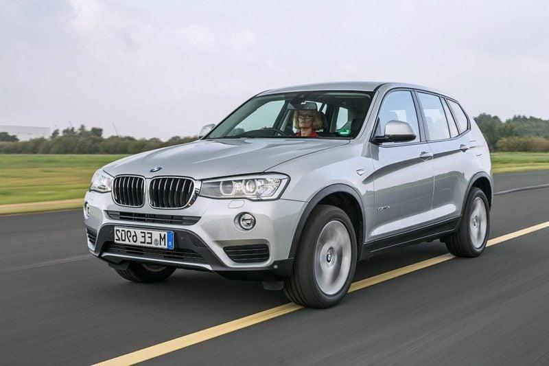 coole Auto Bilder Hintergrund BMW X3 Frontansicht