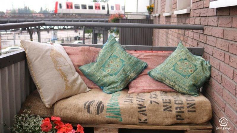 Balkonmöbel aus europaletten  Gartenmöbel aus Paletten - Palettenmöbel Trend geht weiter - DIY ...