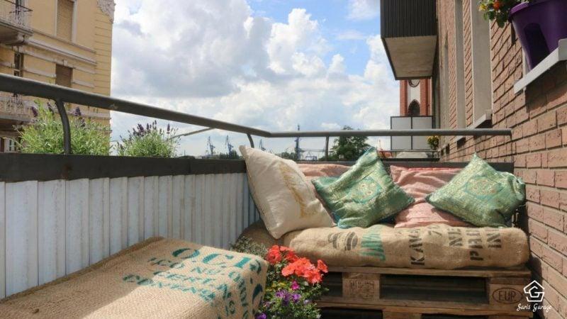Berühmt Gartenmöbel aus Paletten - Palettenmöbel Trend geht weiter - DIY @LM_41