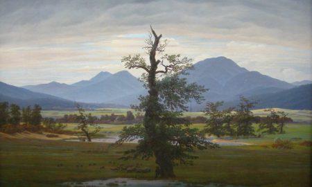 Romantik Epoche Caspar David Friedrich Einsamer Baum
