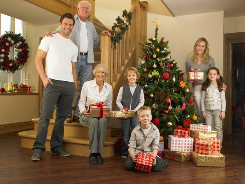 Fotoshooting Ideen kreativ Weihnachten
