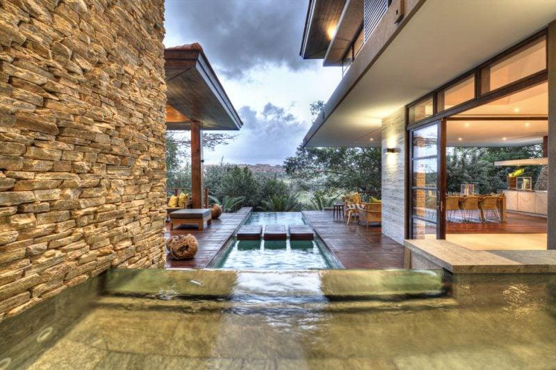 Traumhäuser Schwimmbad Luxushaus Südafrika