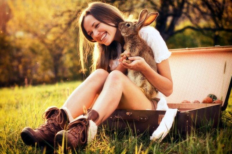 Posen Fotoshooting Fotos mit Haustiere