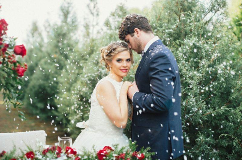 Fotoshooting Paar Hochzeit