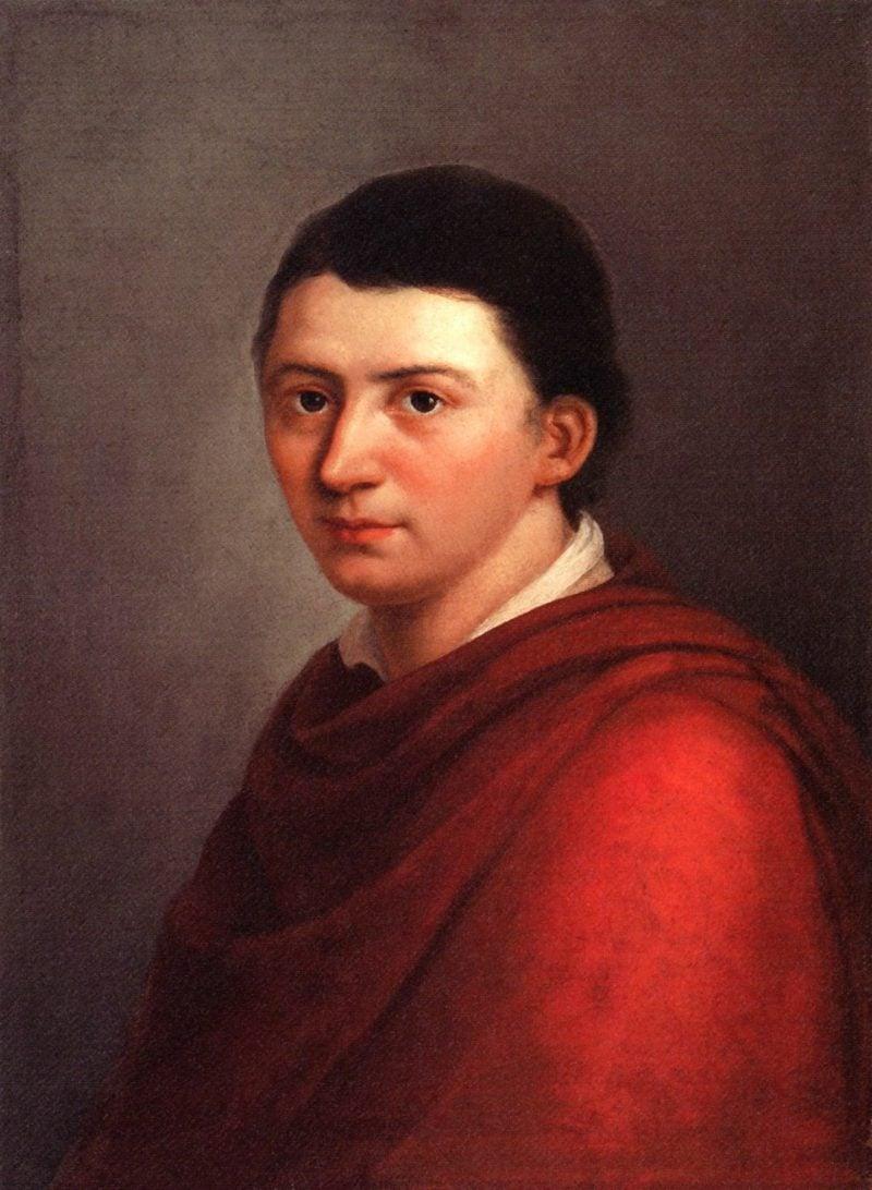 Romantik Lyrik Friedrich Schlegel Portrait