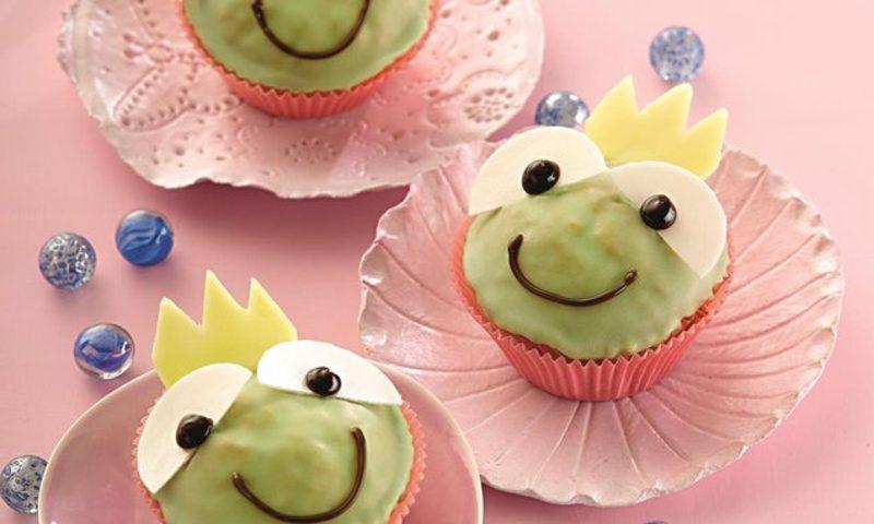 Muffins Kindergeburtstag Rezept Froschkönig