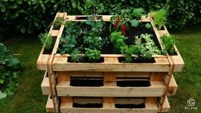 Gartenm bel aus paletten palettenm bel trend geht weiter diy garten zenideen - Gartenmobel aus paletten ...