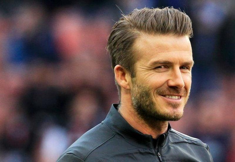 Männerfrisuren David Beckham Undercut mit Übergang
