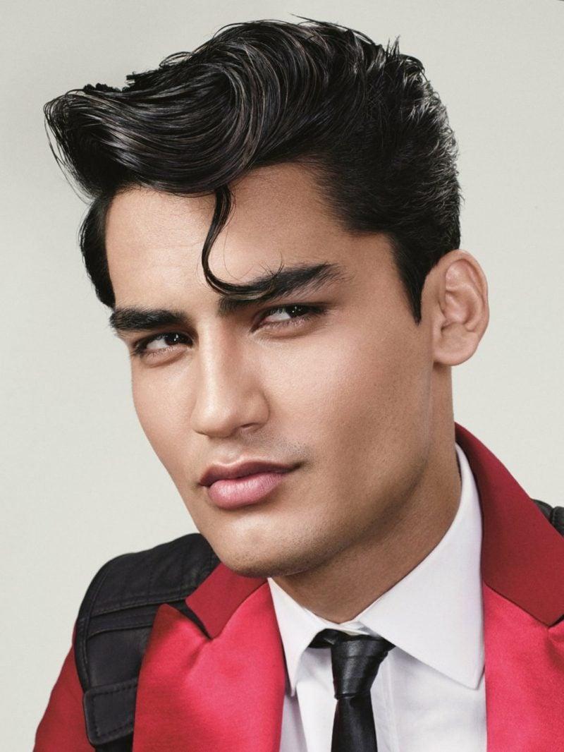 mittellange Frisuren Männer Tolle Elvis Look