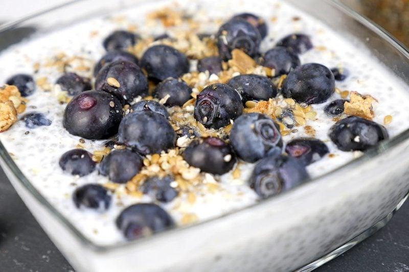 Heidelbeeren gesund Joghurt