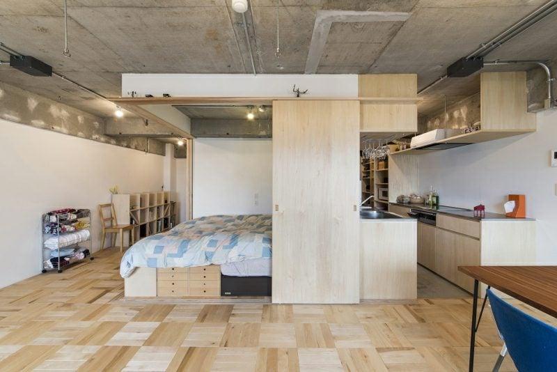 offene Küche kleine Wohnung
