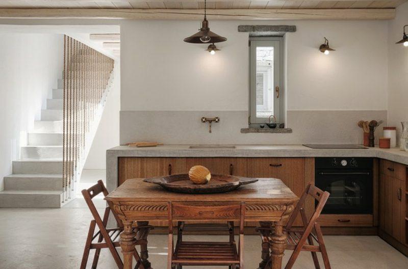 Traumhäuser wiederbesucht Ferienhaus Kea Insel Küche
