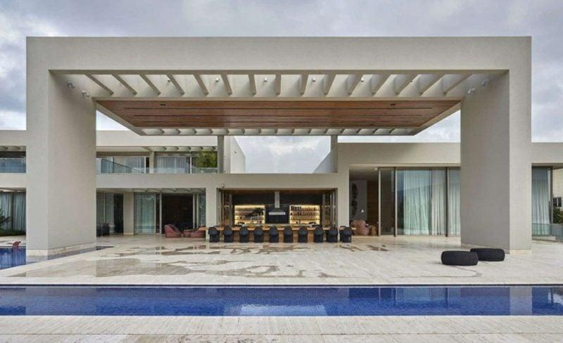 neue Häuser Luxusvilla mit Pool Brasilien