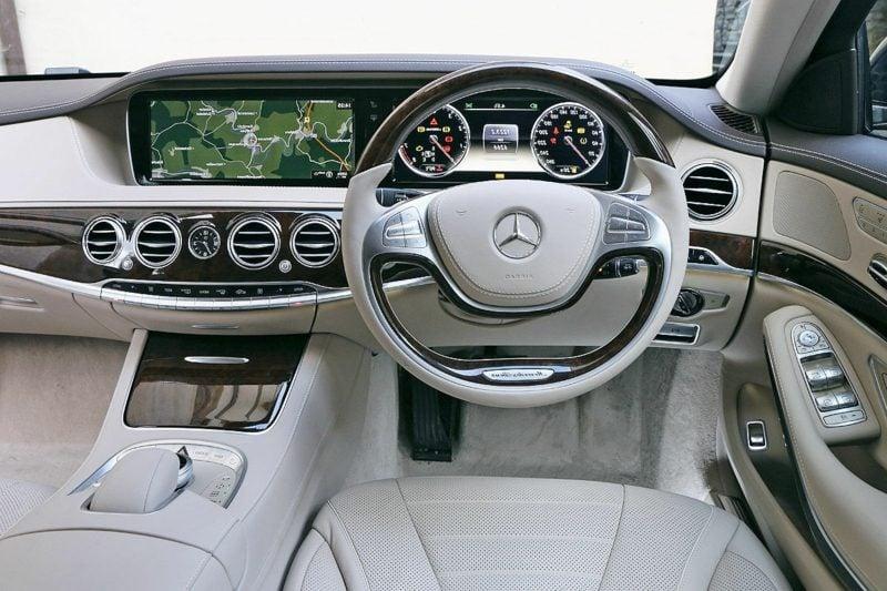Autos Bilder Mercedes S 500 Innenraum