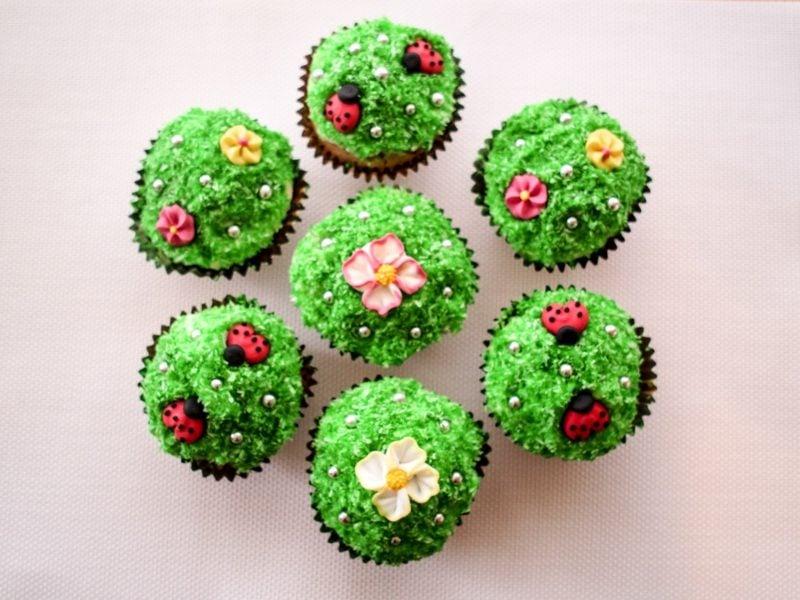 Kindergeburtstag Muffins Blumenwiesen