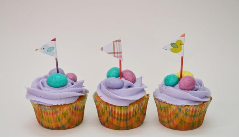 Muffins für den Kindergeburtstag