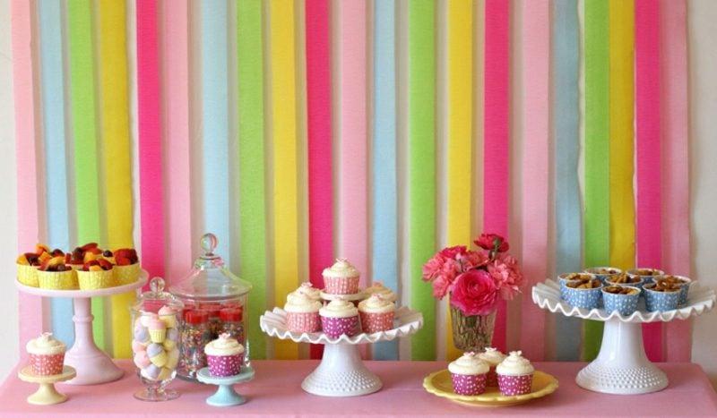 leckere Muffins für den Kindergeburtstag