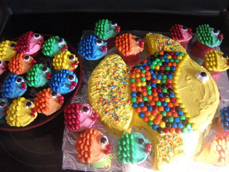 Kinderkekse und Muffins backen Geburtstag