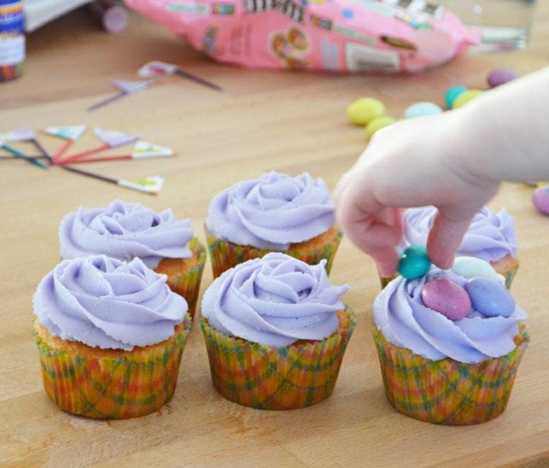 Kindergeburtstag Muffins verzieren