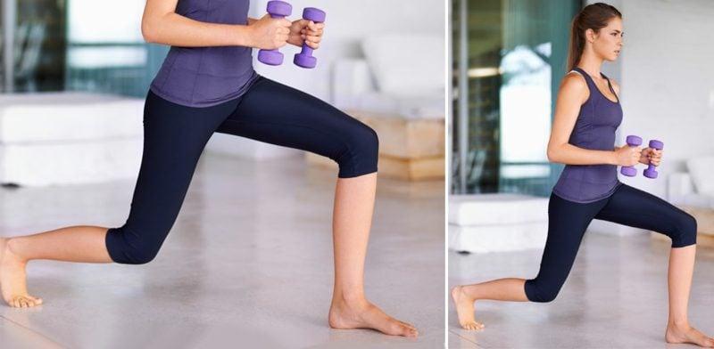 Fett abbauen Beine