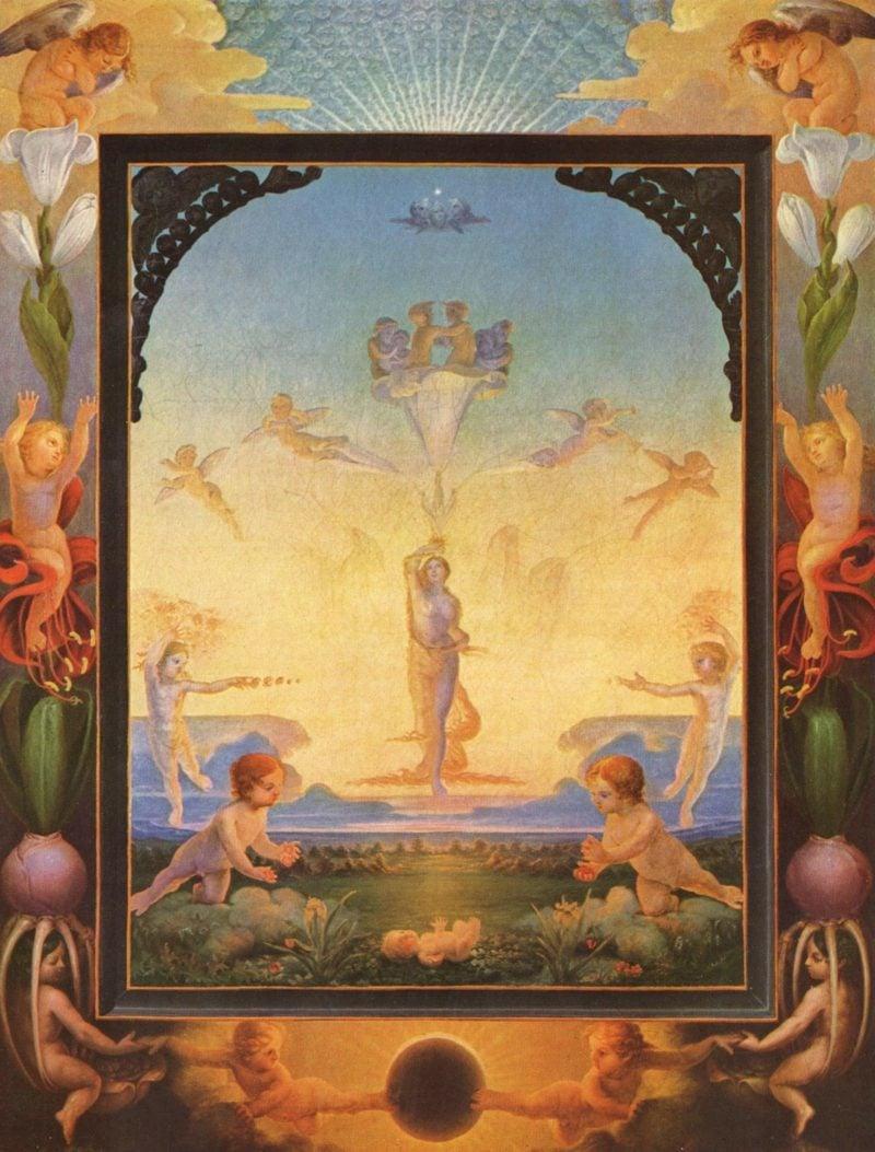 Romantik Epoche Philipp Otto Runge Der Morgen